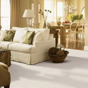 White carpet for living room | Midway Carpet Distributors