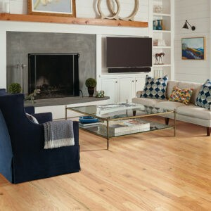 Hardwood flooring for lavish living room | Midway Carpet Distributors