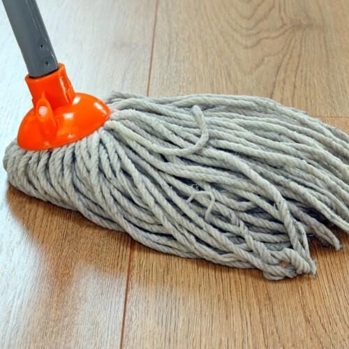 mopping hardwood | Midway Carpet Distributors