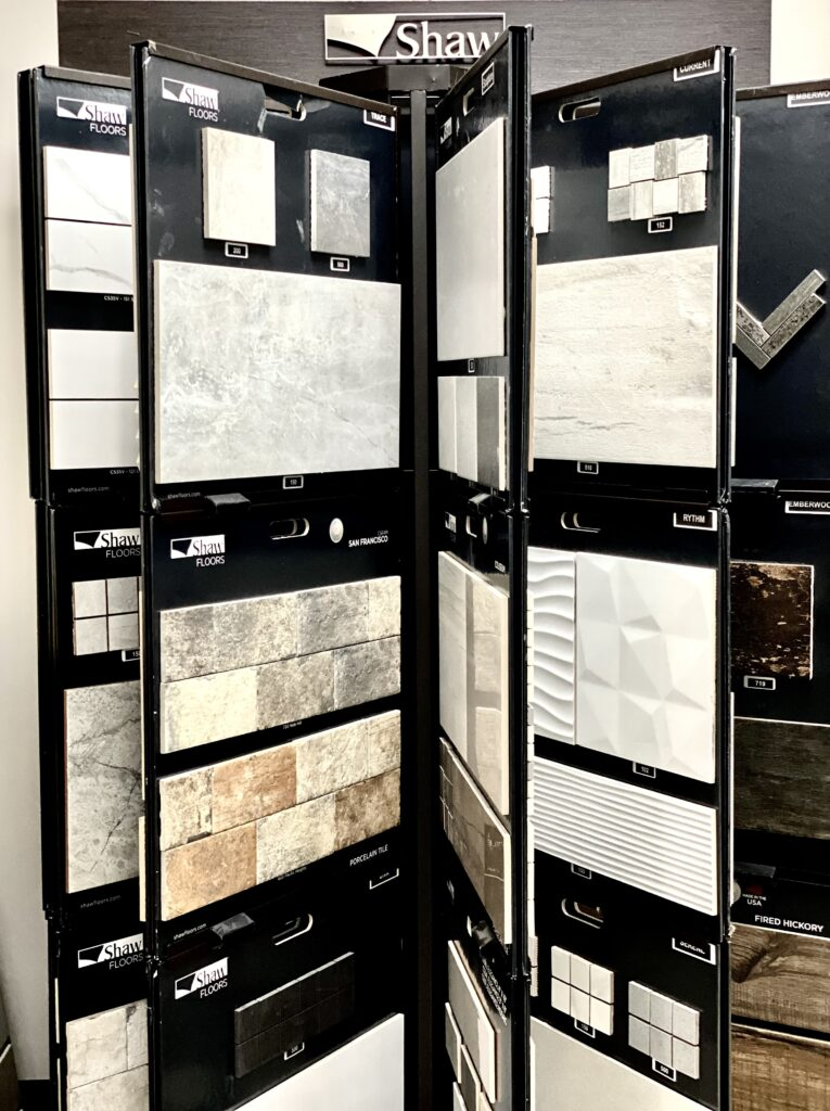 Shaw tiles   Midway Carpet Distributors